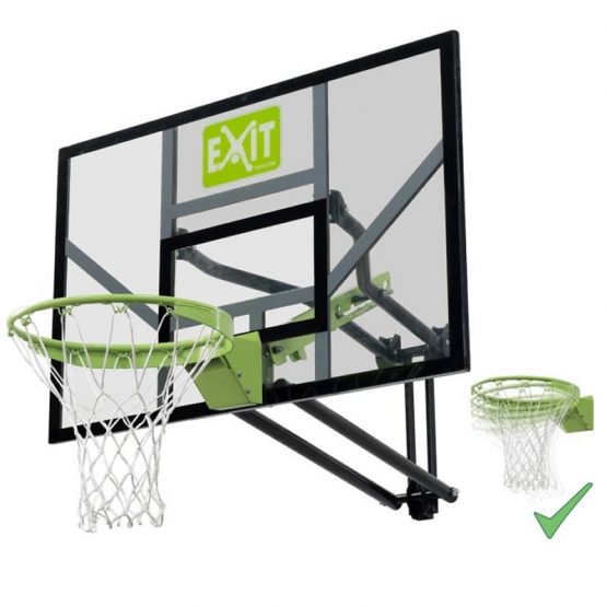 Exit Galaxy Wall-mount Basket System, mit Dunkring
